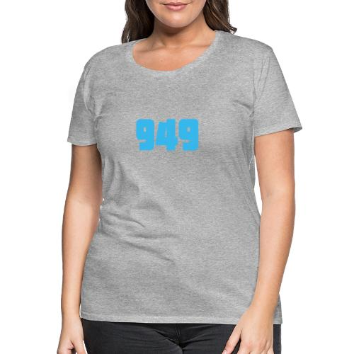 949blue - Frauen Premium T-Shirt