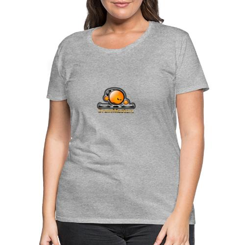 DrumMasterz Logo - Frauen Premium T-Shirt