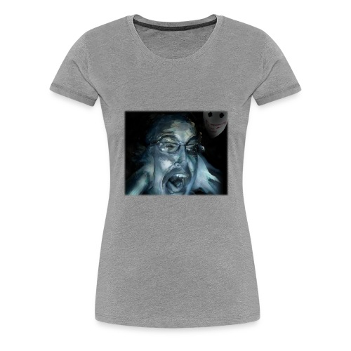 Scarlett Storpey SCP Transparent no text png - Women's Premium T-Shirt
