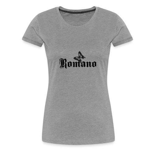626878 2406609 romanofjaerli orig - Premium-T-shirt dam