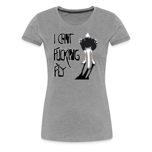I can't fucking fly - Premium-T-shirt dam