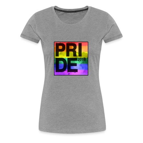 Pride 2018 Rainbow Block - Women's Premium T-Shirt