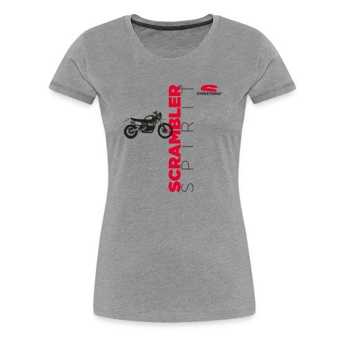 M0126 - T-shirt Premium Femme