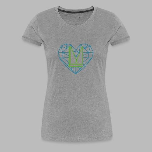 LoveMedia Logo - Frauen Premium T-Shirt