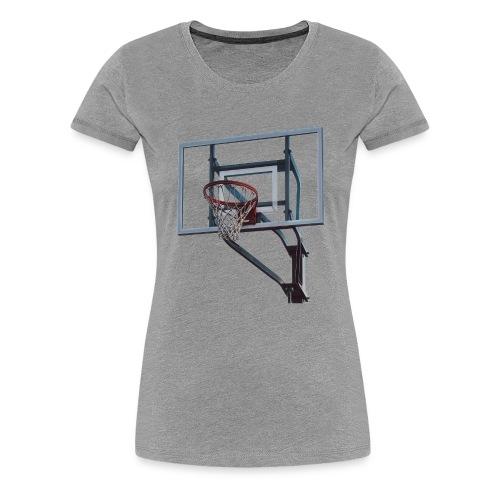 Basketball Korb - Frauen Premium T-Shirt