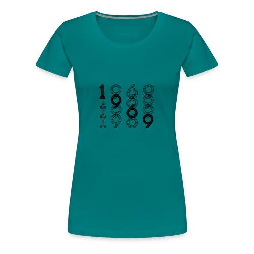 1969 syntymävuosi - Naisten premium t-paita