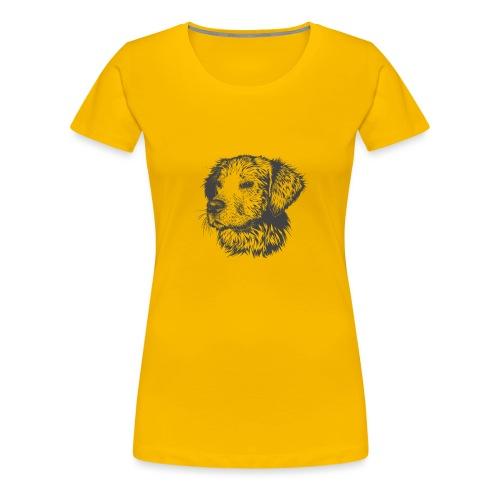koiran kuva - Naisten premium t-paita
