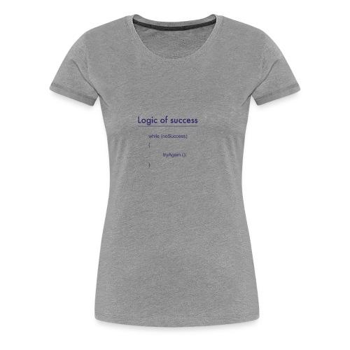 success - Frauen Premium T-Shirt