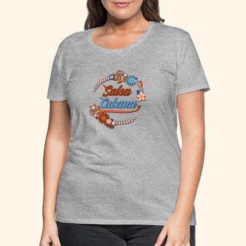 Salsa Cubana T-Shirt - Gift for Salsa Dancer - Women's Premium T-Shirt