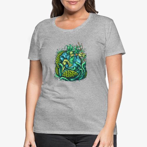 Dieu de la mer - T-shirt Premium Femme