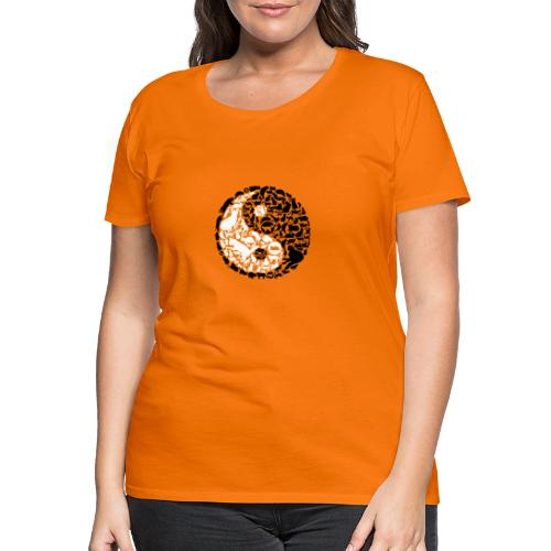 YinYang Cats - Frauen Premium T-Shirt