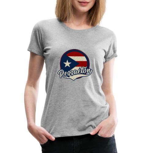 Reggaeton Music - Puerto Rico - Frauen Premium T-Shirt