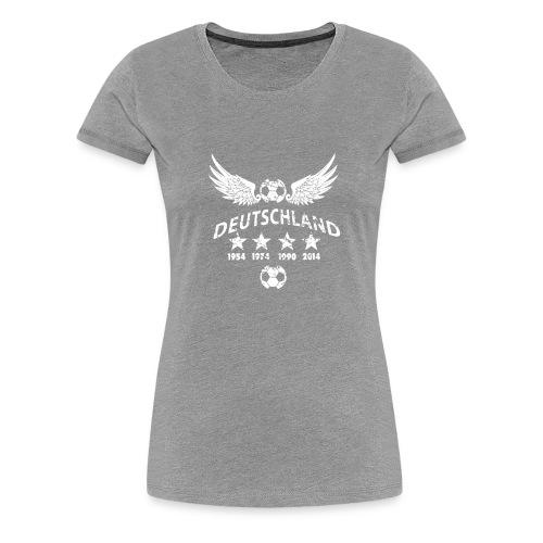 Germany football 2018 - Frauen Premium T-Shirt