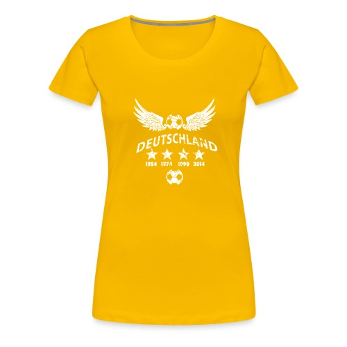 Germany football 2018 - Frauen Premium T-Shirt