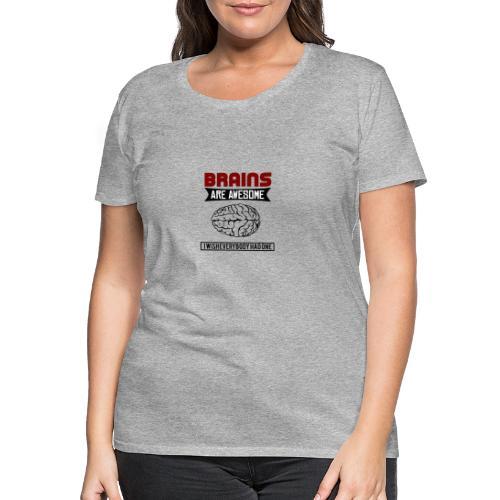 Brain - Gehirn - Frauen Premium T-Shirt