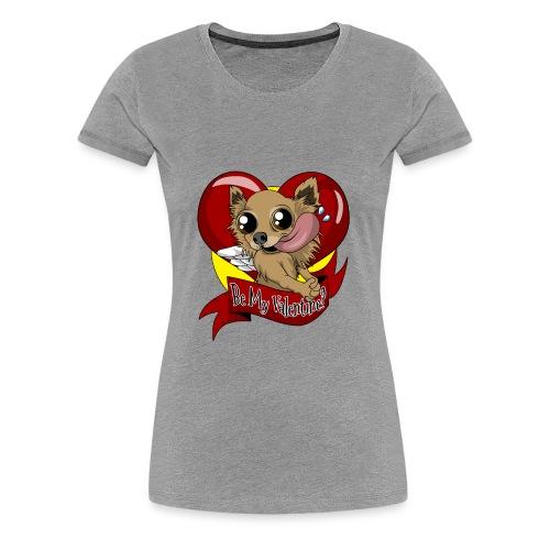 Engla Be my valentine? - Premium-T-shirt dam