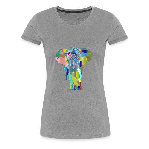 elephant psychedelique - T-shirt Premium Femme