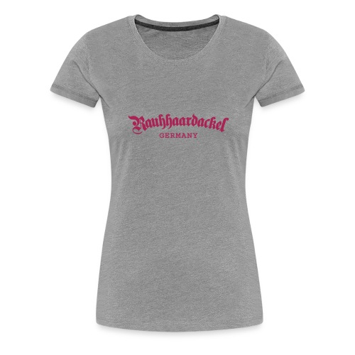 Rauhhaardackel Germany - Frauen Premium T-Shirt