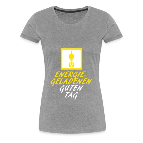 DieSteckdoze - Frauen Premium T-Shirt