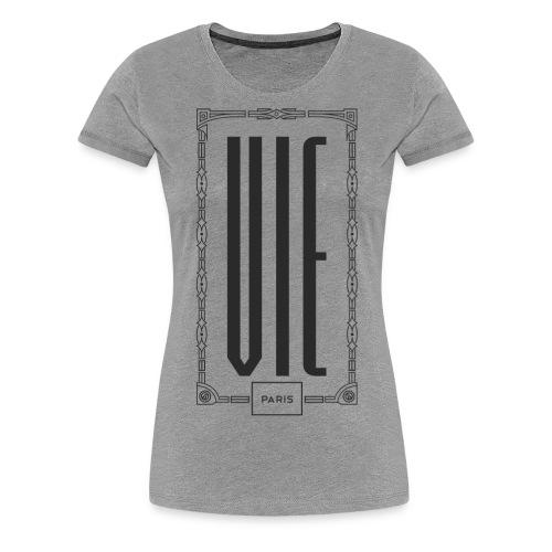 """Jardin d'Eden """"Ville Natale"""" Vienna Dark - Frauen Premium T-Shirt"""