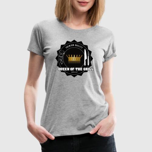 queen png - Dame premium T-shirt