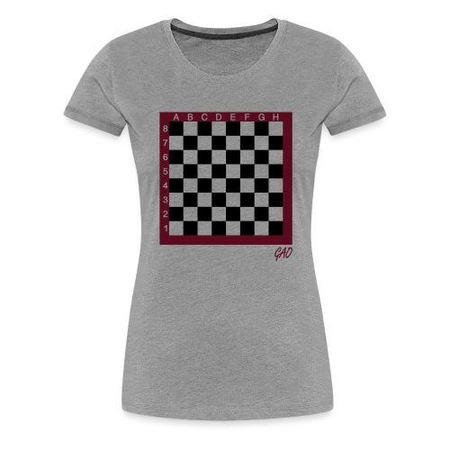 GAO - Halma-Mater - Damenhoodie Rot - Frauen Premium T-Shirt