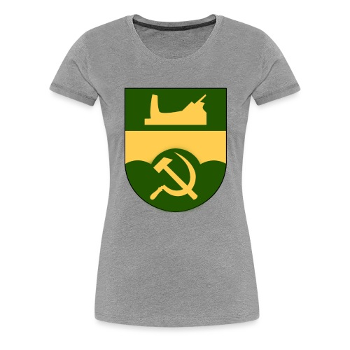 Åtvidaberg Sovjet - Premium-T-shirt dam
