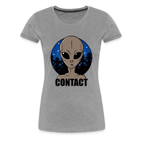 Contact Extraterrestre - T-shirt Premium Femme