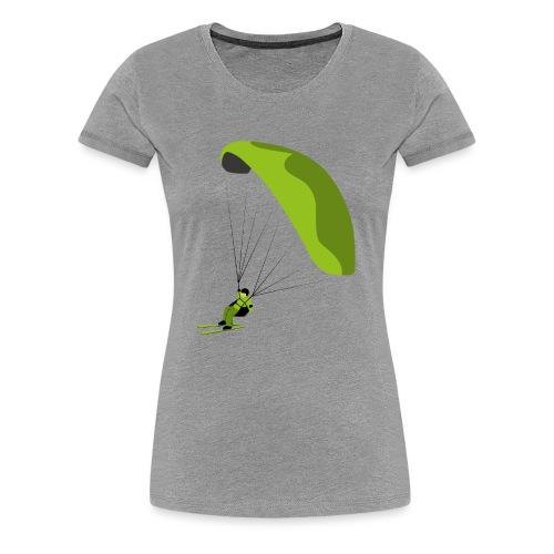 Speedflying Speedriding Paragliding Gleitschirm - Frauen Premium T-Shirt
