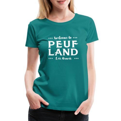 Peuf Land Aravis - White - T-shirt Premium Femme