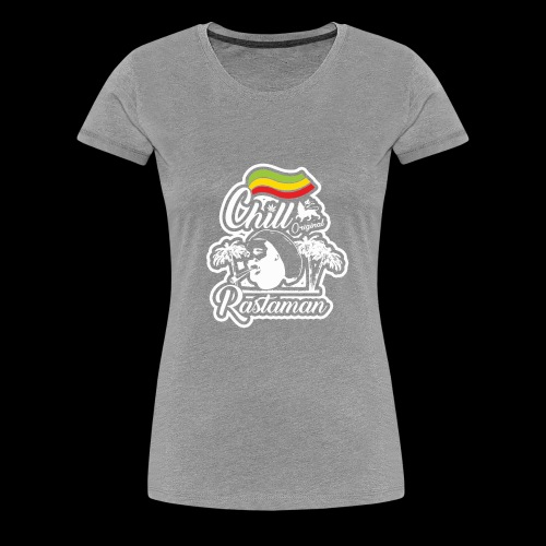 artfull dodger Chill Rastaman White version - T-shirt Premium Femme