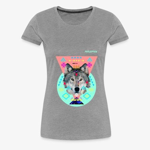 LOUP PERCEPTION 6 PERCEPTION CLOTHNIG - T-shirt Premium Femme