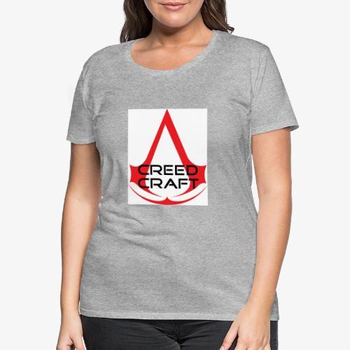New CreedCraft logo - Women's Premium T-Shirt