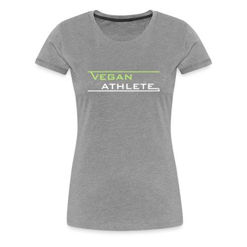VEGAN ATHLETE - Frauen Premium T-Shirt