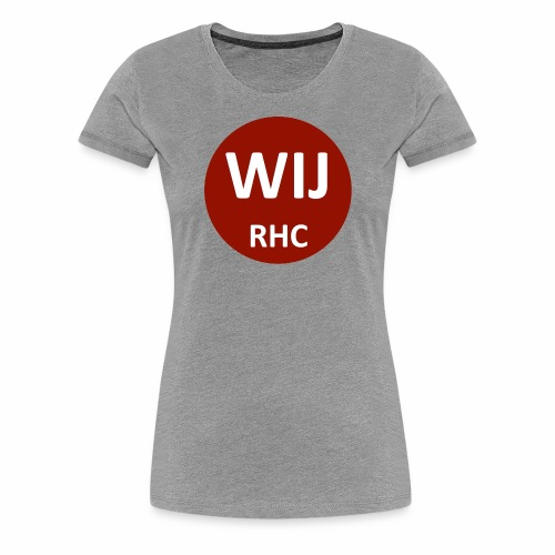 WIJ RHC - Vrouwen Premium T-shirt