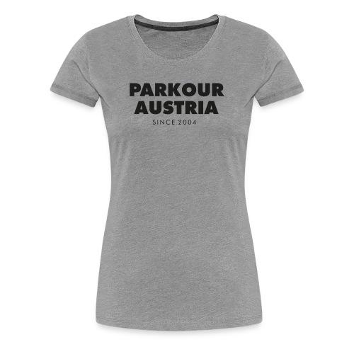 PKA_Font_black - Frauen Premium T-Shirt