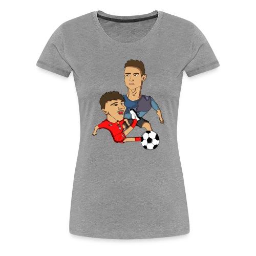 profilbilde gjennomsiktig cropped png - Premium T-skjorte for kvinner