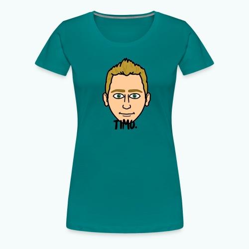 Logo TIMO. - Vrouwen Premium T-shirt