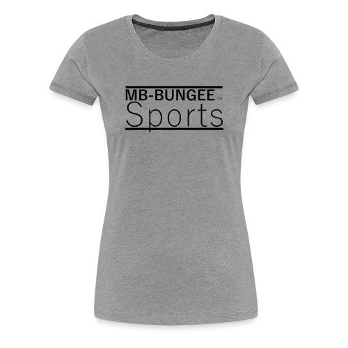 MB-Bungee-Sports.com - Frauen Premium T-Shirt