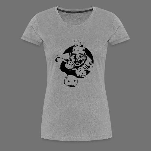 Profesjonalne Gambler (1c czarny) - Koszulka damska Premium