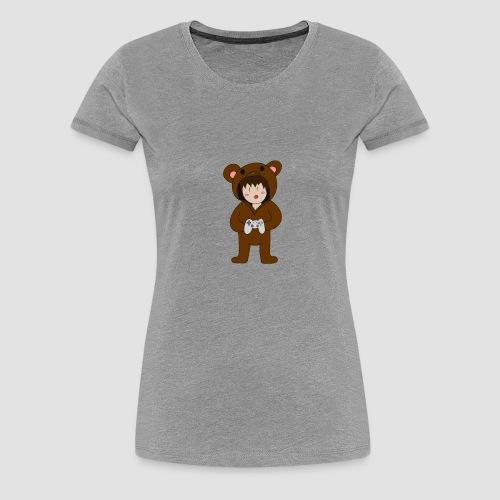 Bear Chibi - Frauen Premium T-Shirt