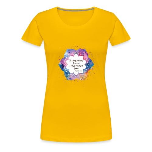 Citation de Walt D. - T-shirt Premium Femme