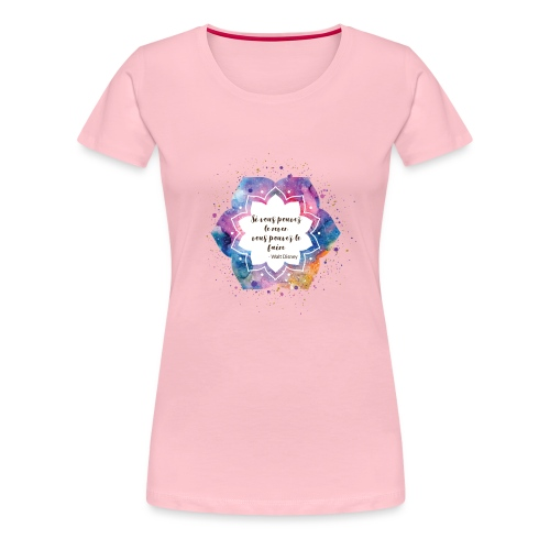 Citation de Walt D. - T-shirt Premium Femme