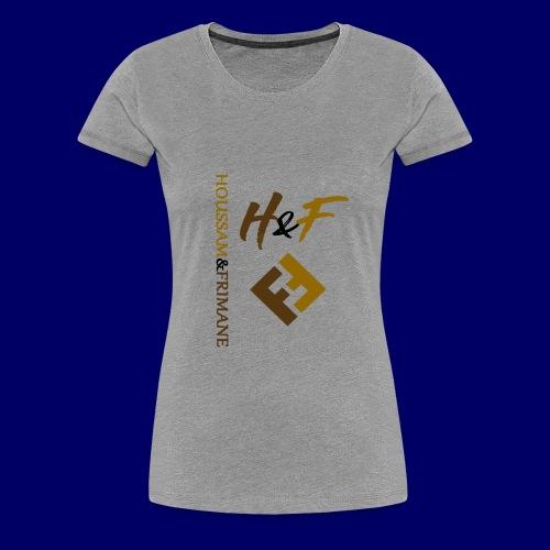 h&F luxury style - Maglietta Premium da donna