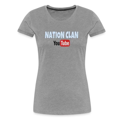 NATION CLAN: - Premium-T-shirt dam