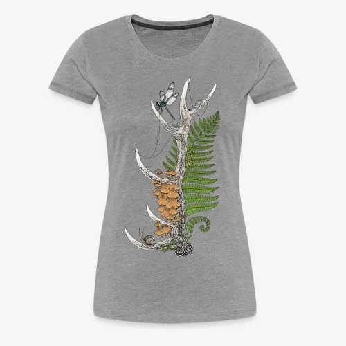Woodland Wonders - Women's Premium T-Shirt