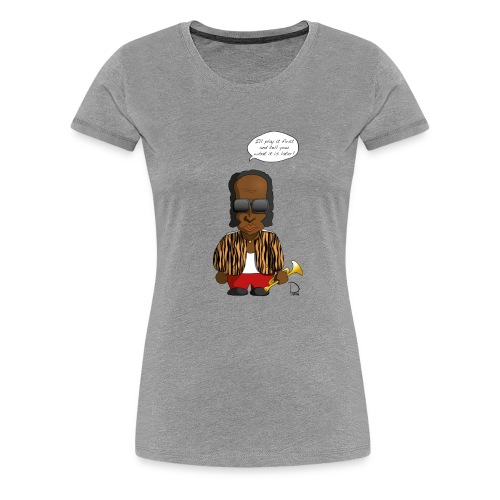 Miles Davis - Frauen Premium T-Shirt