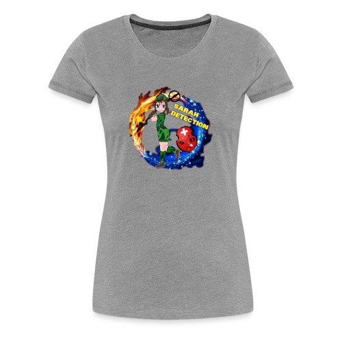 Sarah's Detection Shop - Frauen Premium T-Shirt