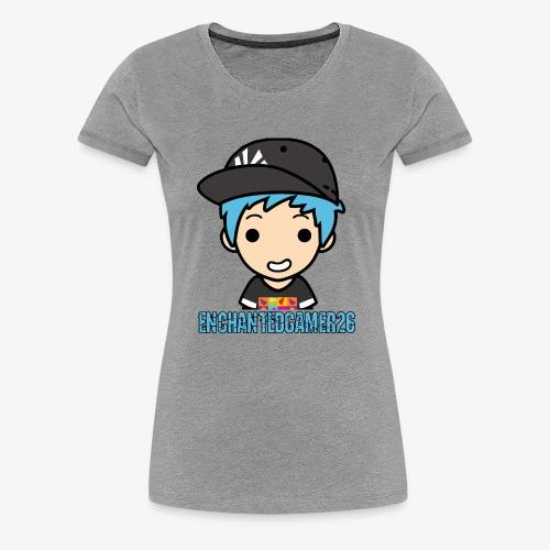 Logo met naam - Vrouwen Premium T-shirt