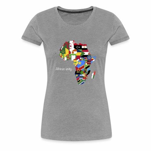 African unity - T-shirt Premium Femme